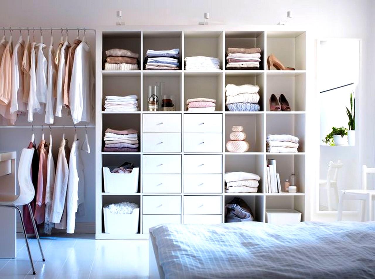 Las 15 Mejores Ideas Para Un Dormitorio Con Vestidor Abierto # Muebles Vestidor Baratos