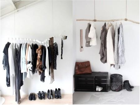 habitaciones con vestidores abiertos