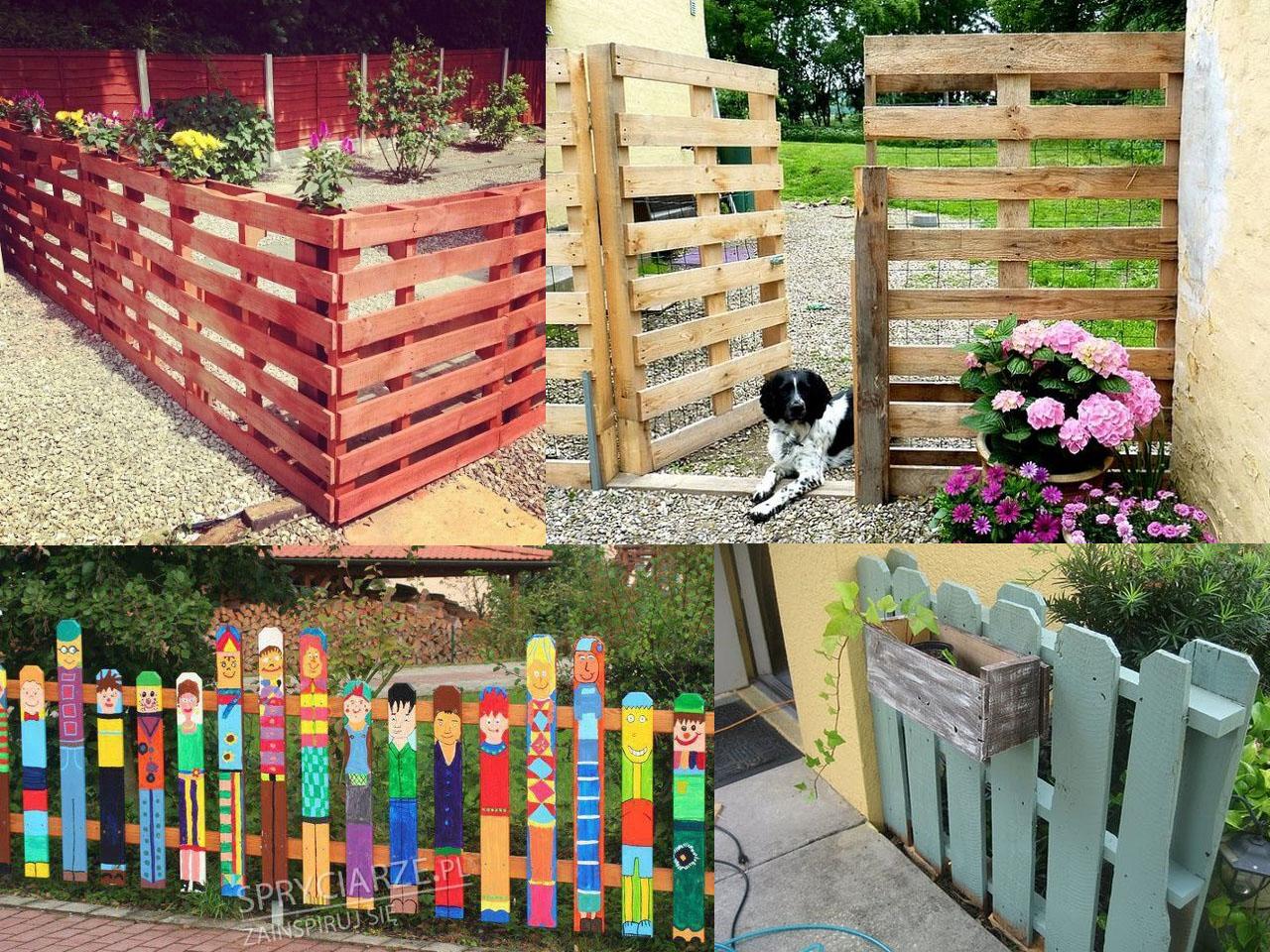 Ideas para la decoraci n de jardines con palets Como organizar mi jardin