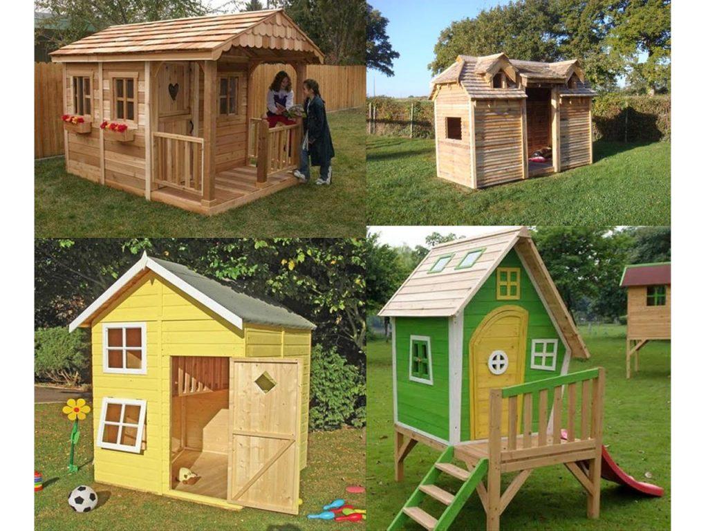 casas de palets para el jardín