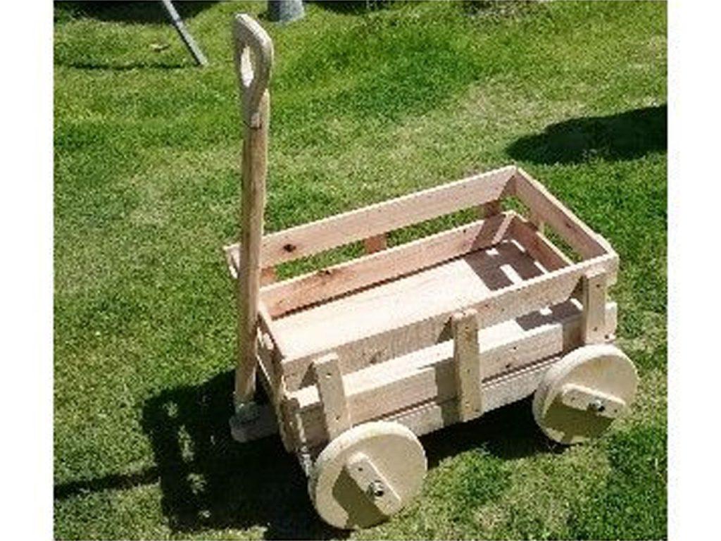 carrito de madera
