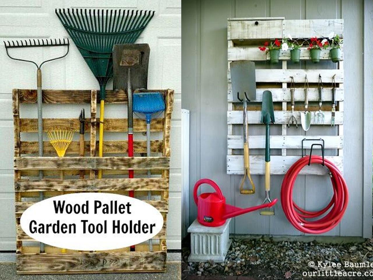 Ideas Para La Decoraci N De Jardines Con Palets