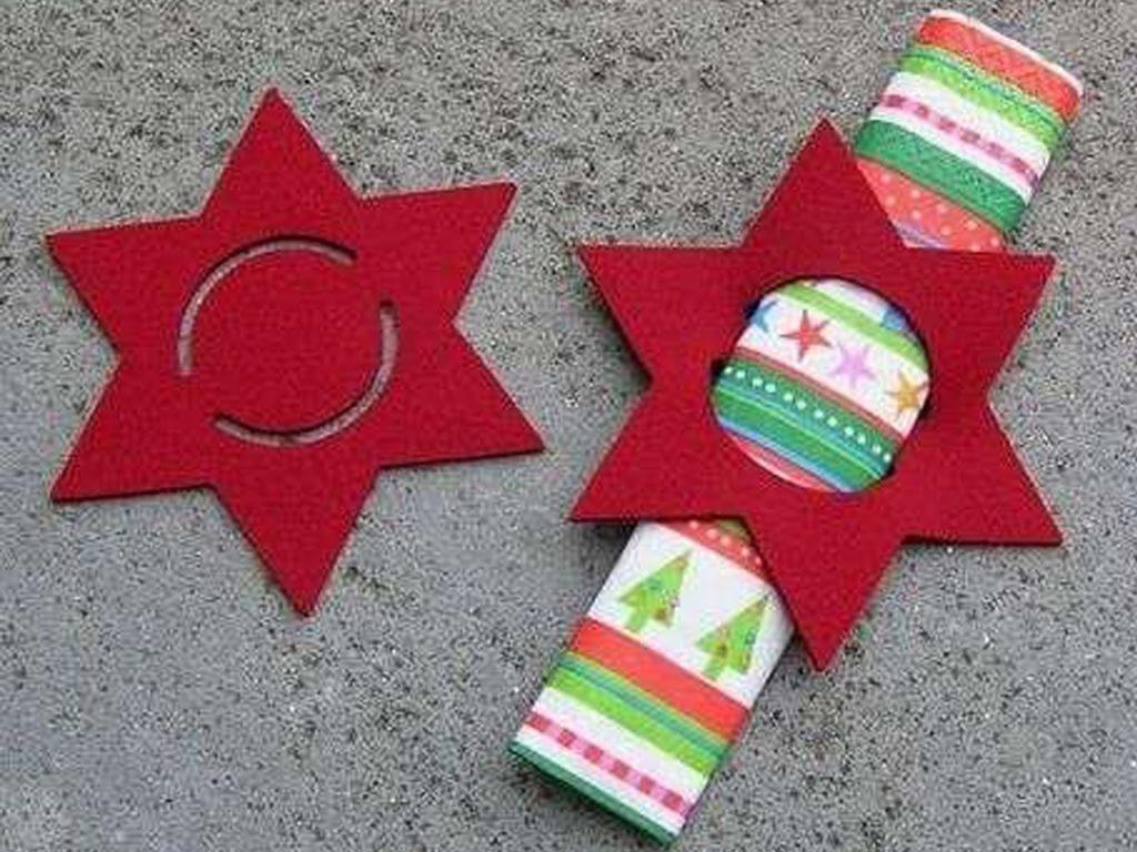 ideas de decoración navideña manualidades