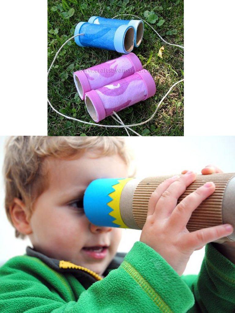 DIY con rollos de papel higiénico