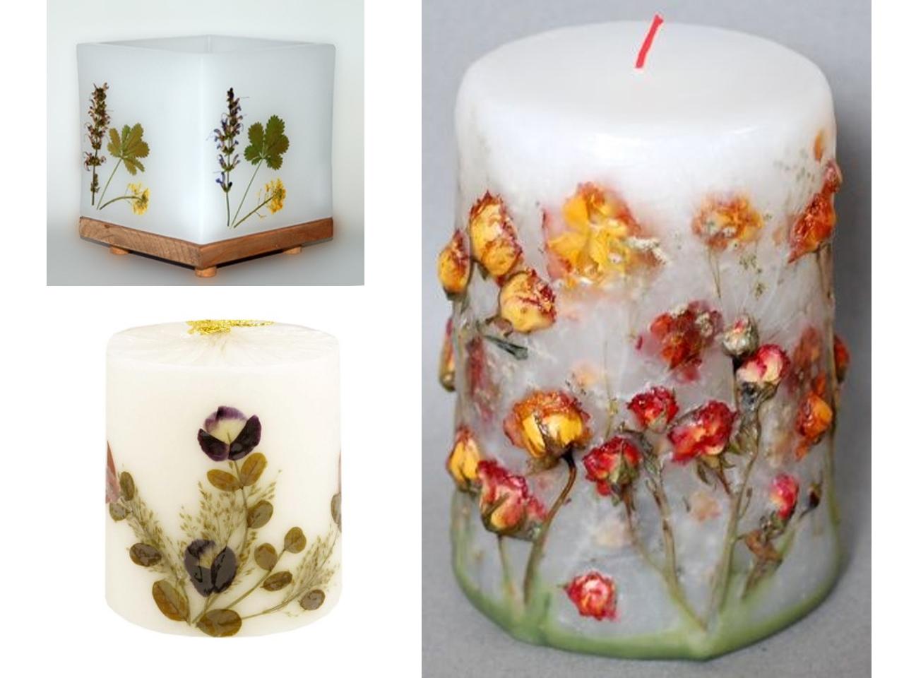 9 ideas de decoraci n con flores secas - Blog de manualidades y decoracion ...