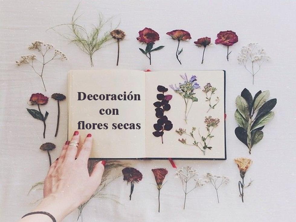9 Ideas De Decoracion Con Flores Secas