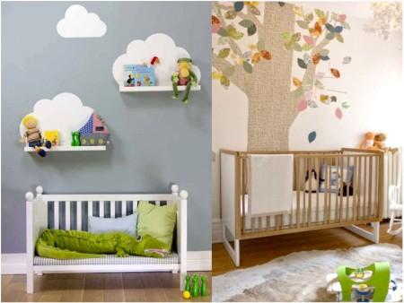 cómo decorar una habitación de recien nacido