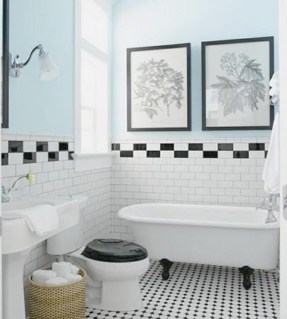 decoracion lavabos vintage