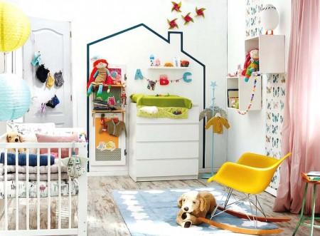 cómo decorar habitación bebé
