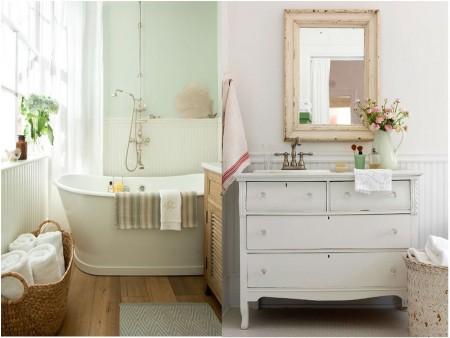 decoración bañeras vintage