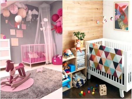paredes habitaciones de bebe