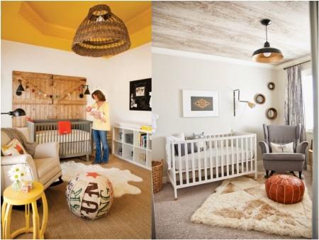 decoracion de techos habitaciones bebe