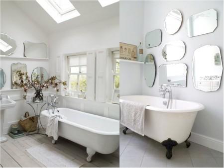 decoración de baños estilo antiguo