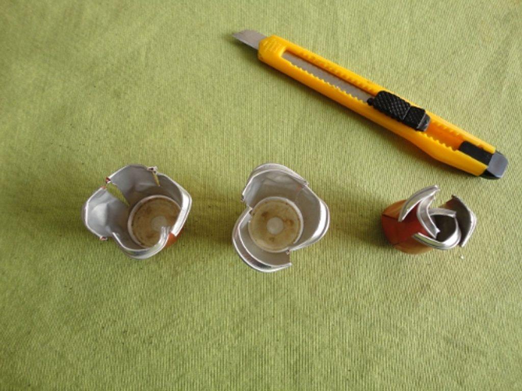 diseñar rosas con cápsulas de café nespresso