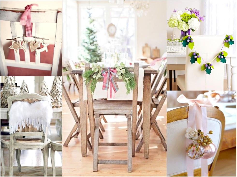 9 sillas decoradas de navidad que te inspirar n for Sillas comedor originales