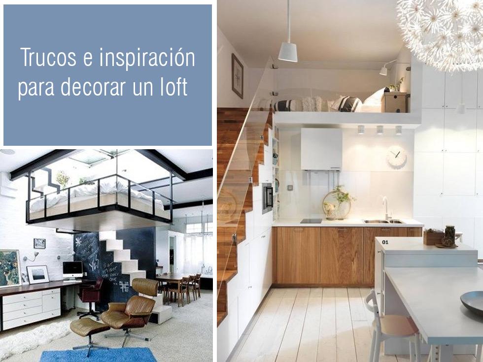 Inspiración para los espacios abiertos y la decoración loft