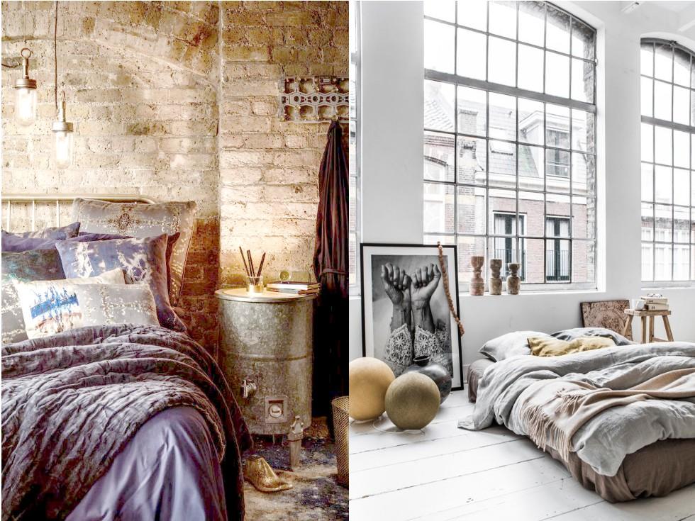 Dormitorios estilo industrial en 7 sencillos pasos - Habitacion decoracion industrial ...