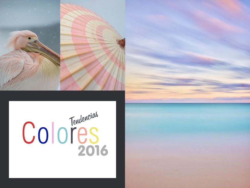 Tendencias colores 2016: El año de la serenidad