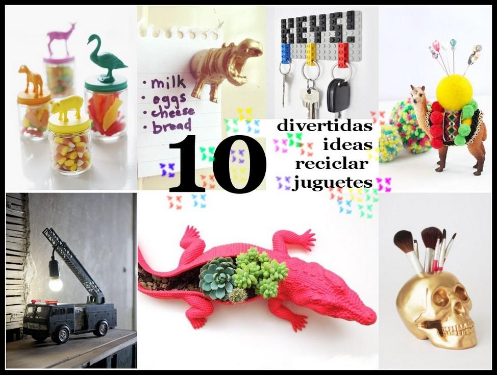 10 Divertidas Ideas Para Reciclar Juguetes