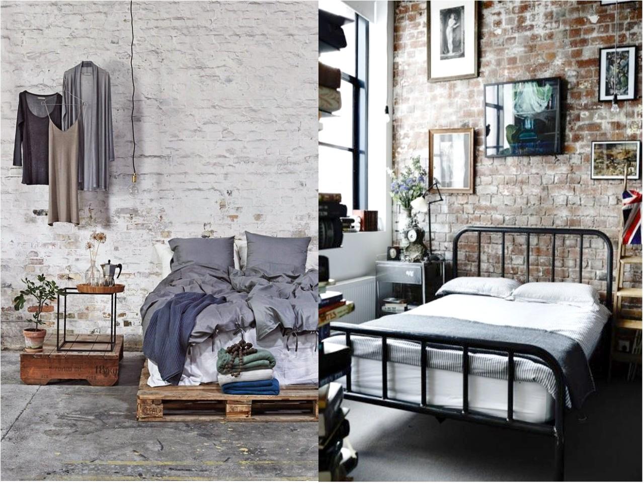 Dormitorios estilo industrial en 7 sencillos pasos for Pintura estilo industrial