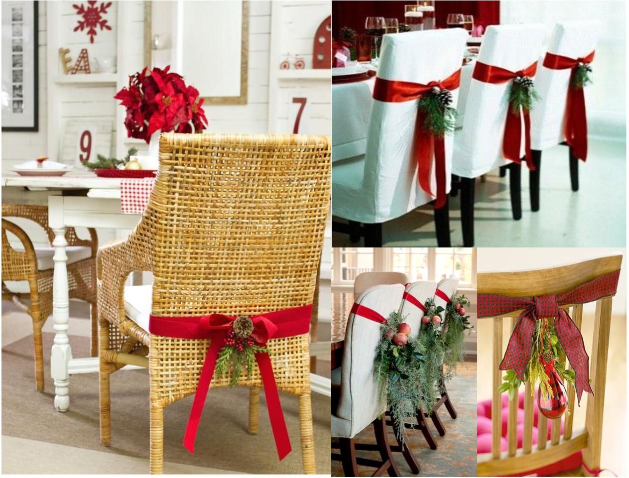 9 sillas decoradas de navidad que te inspirarán
