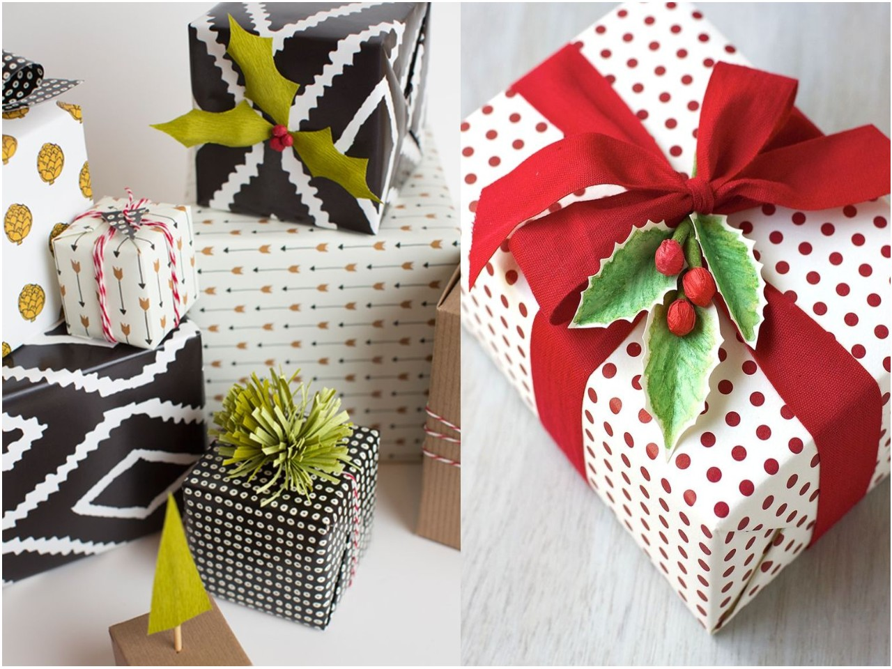 7 ideas originales para envolver regalos for Adornos navidenos para regalar