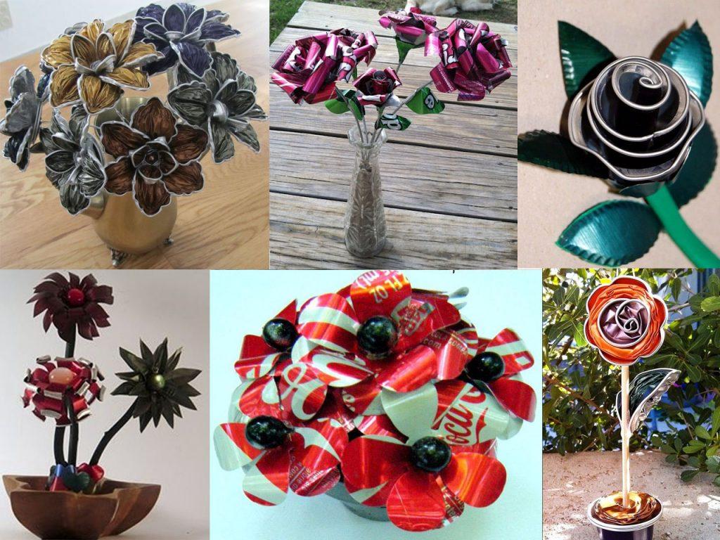flores hechas a mano