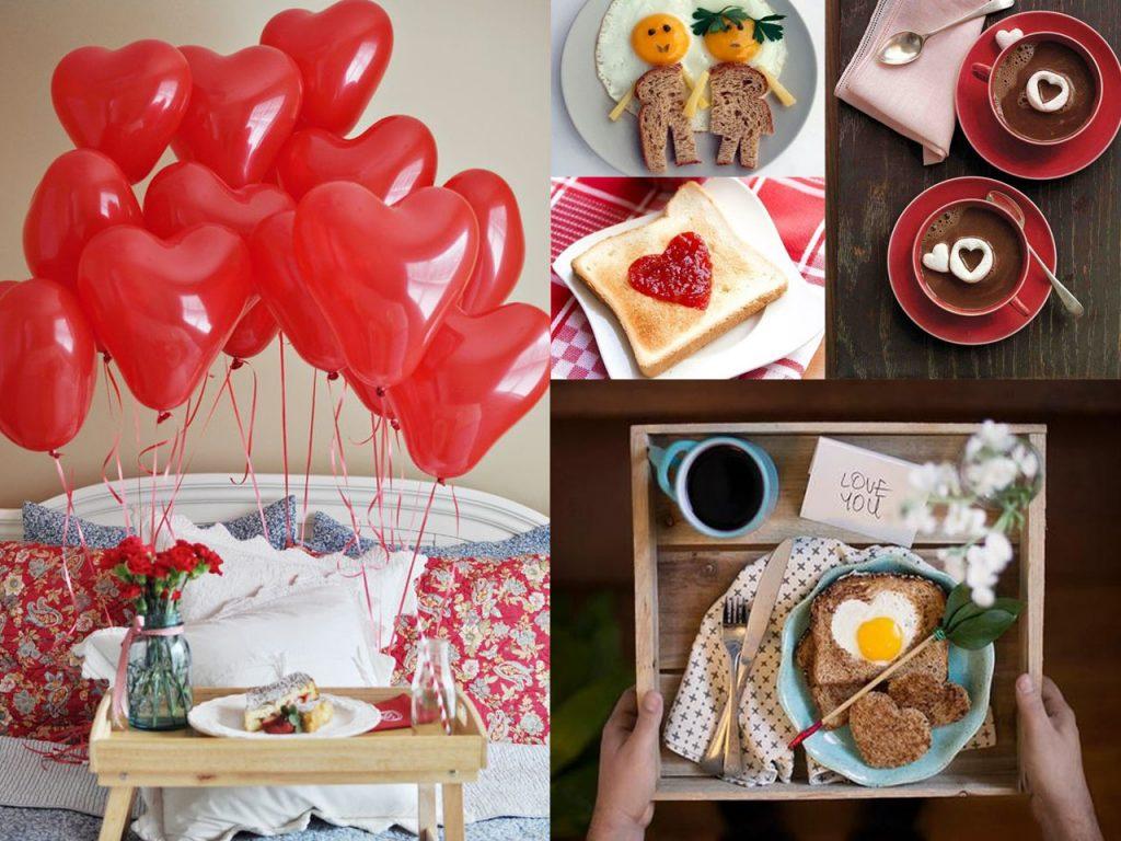 desayuno para san valentín