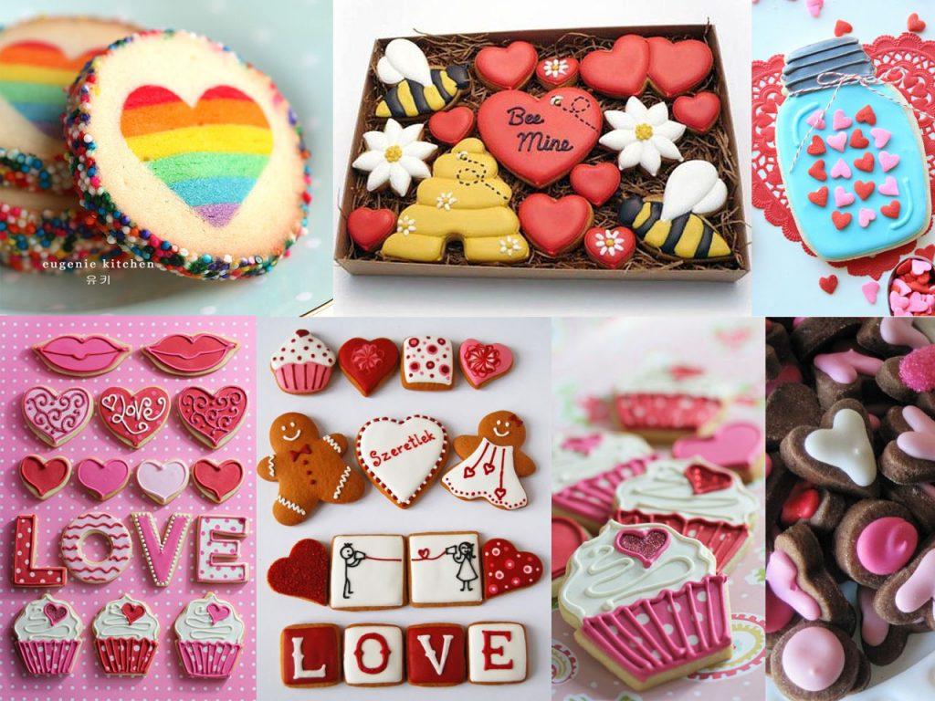galletas caseras para san valentín