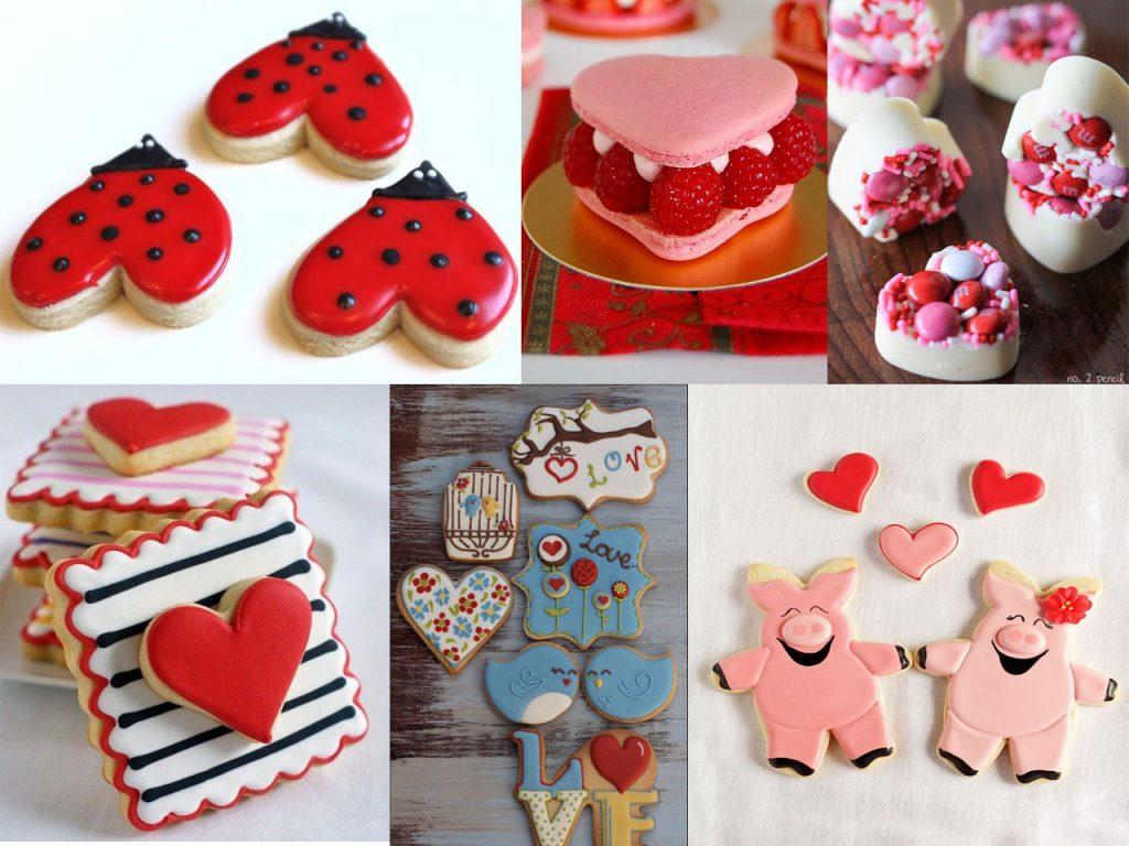galletas de corazones para san valentín