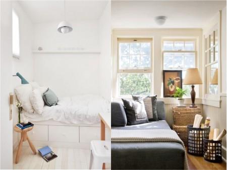 el techo en habitaciones pequeñas