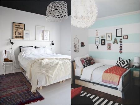 color del techo en habitaciones pequeñas