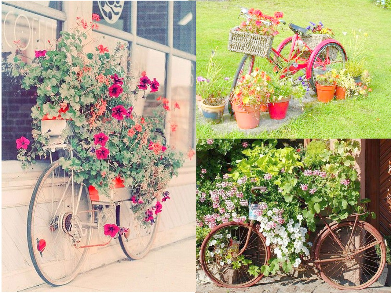 Ideas Para Decorar Jardineras Of 7 Originales Ideas Para Reciclar Bicicletas