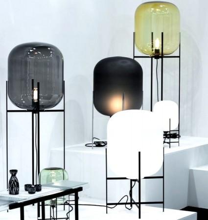 lámparas para decorar con metal