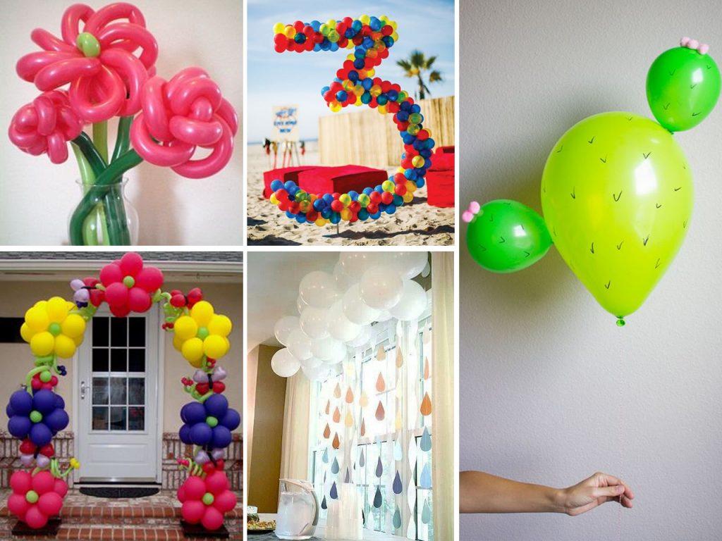 Descubre c mo decorar con globos con estas fant sticas ideas - Como hacer figuras con chuches ...