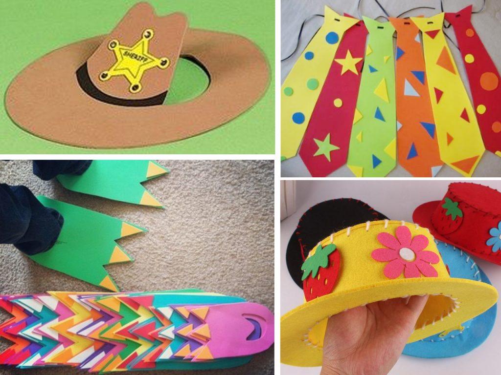 Disfraces de goma eva para niños