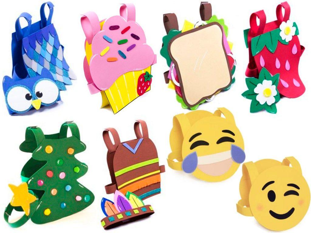 bolsos de goma eva para niños