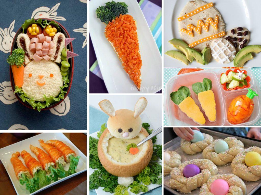 platos para comer en Pascua
