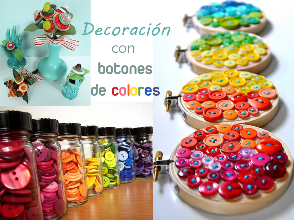 15 originales ideas para la decoraci n con botones Ideas de decoracion manualidades