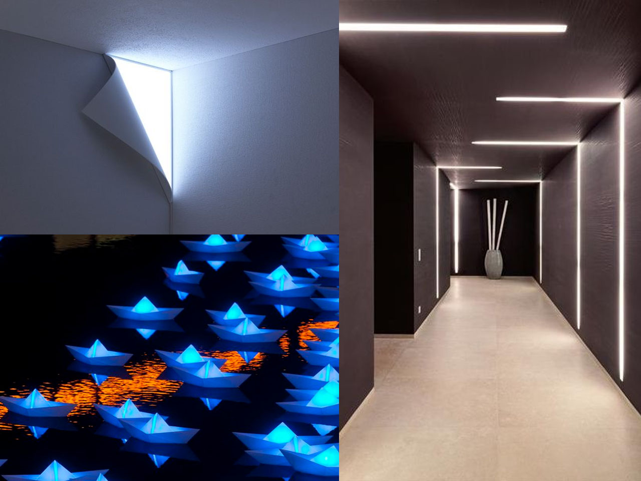 Descubre la decoraci n con luces led y todas sus ventajas - Decoracion con luces ...