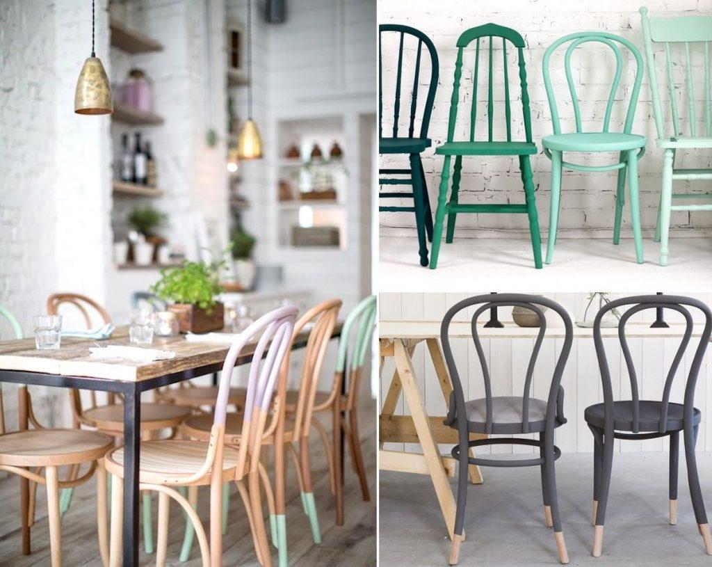 decorar con sillas viejas