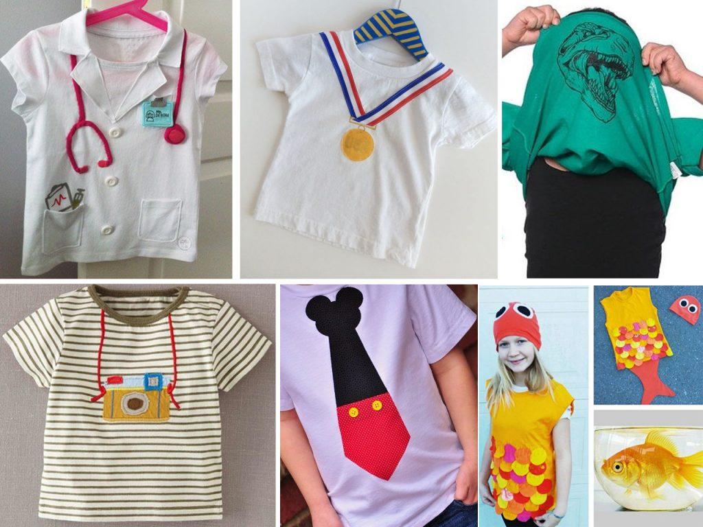 Descubre c mo hacer camisetas originales - Pintar camisetas ninos ...