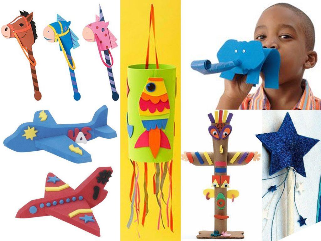 juguetes en goma eva