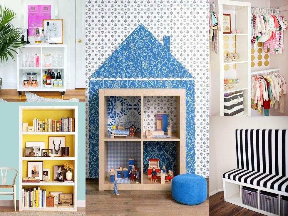10 fantásticos usos para estanterías en tu hogar