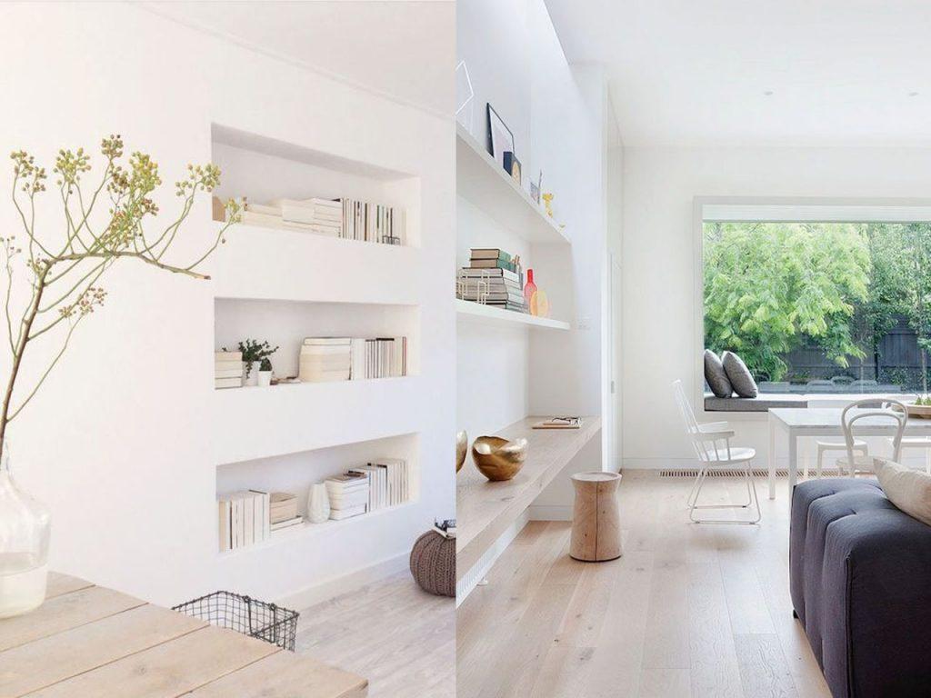 Decoraci n minimalista para el sal n de tu casa - Muebles del salon ...