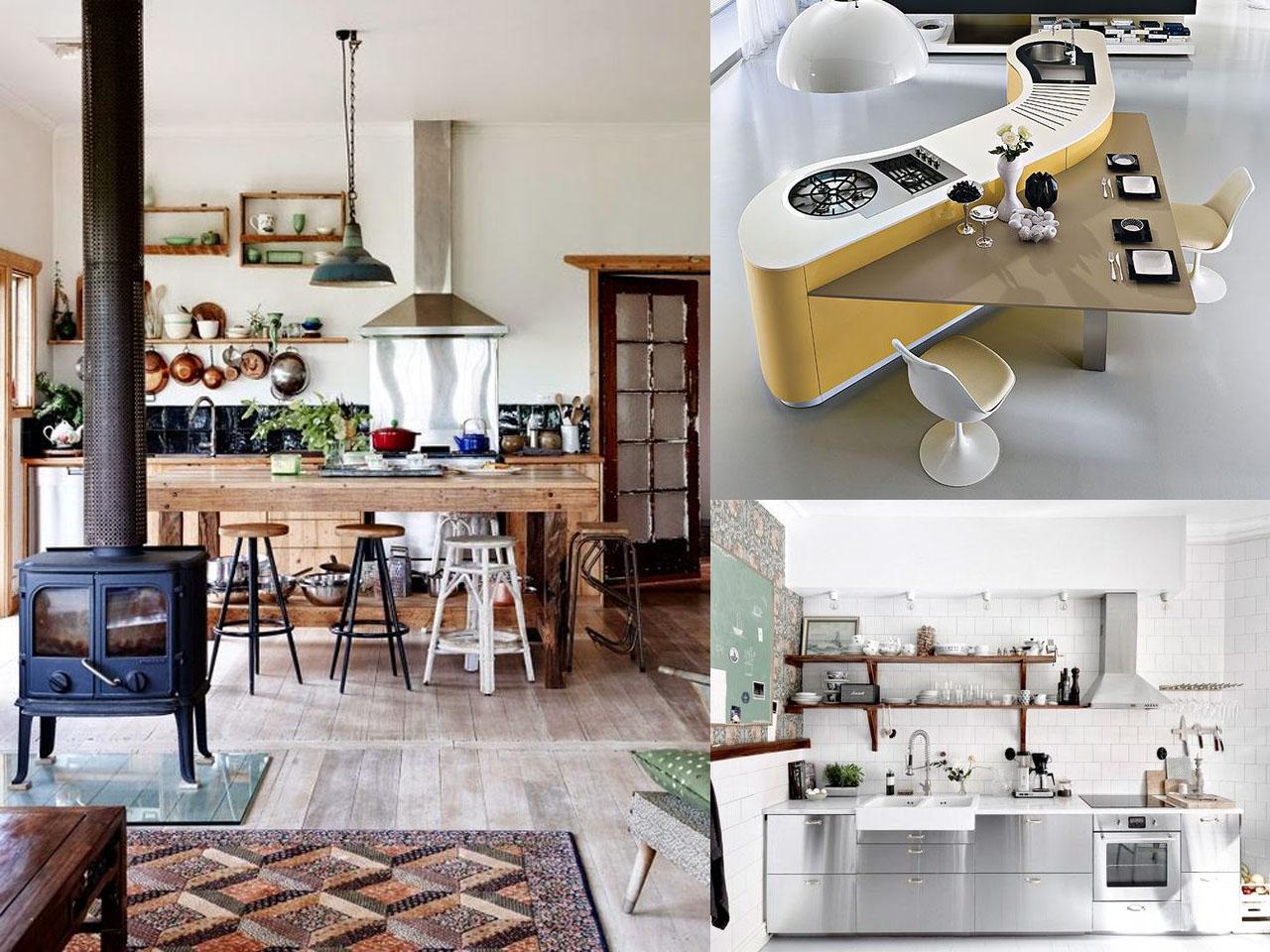 Tendencias cocinas 2017 el nuevo centro de tu hogar for Cocinas actuales