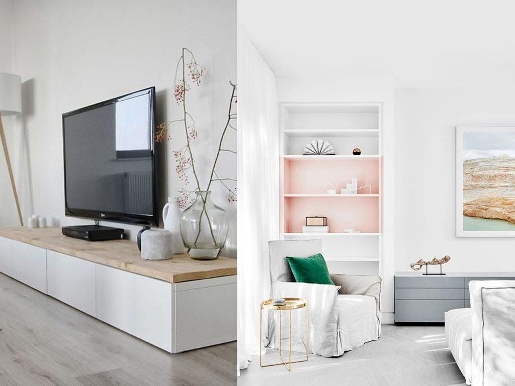 Decoracin minimalista para el saln de tu casa