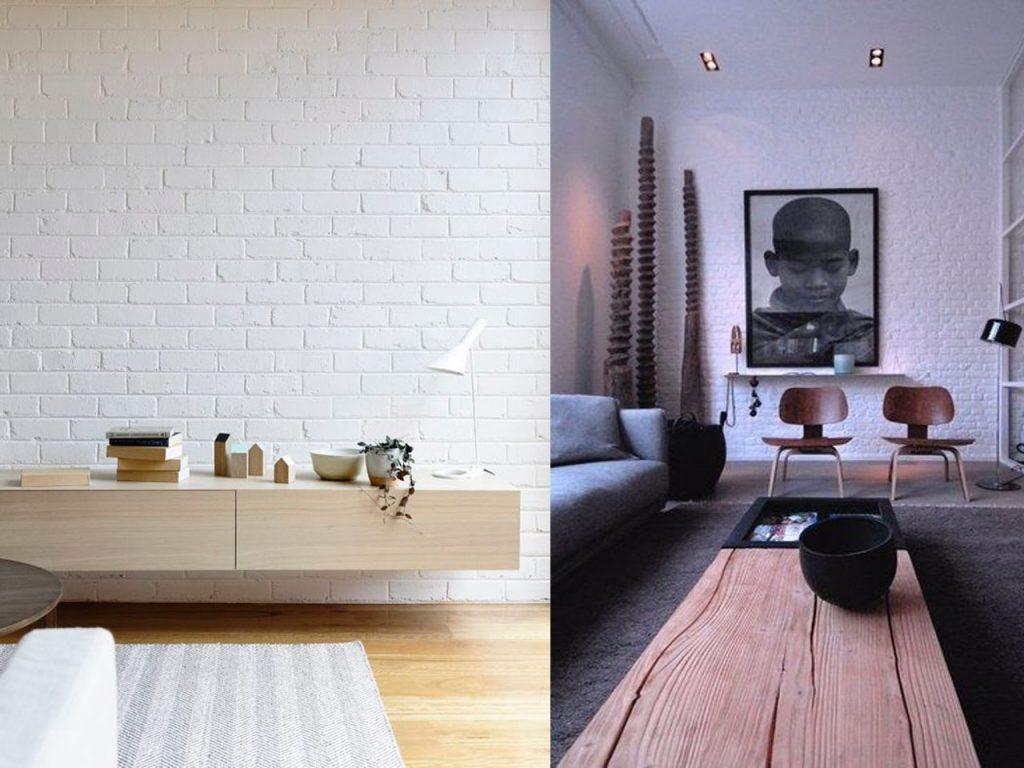 madera en espacios minimalistas