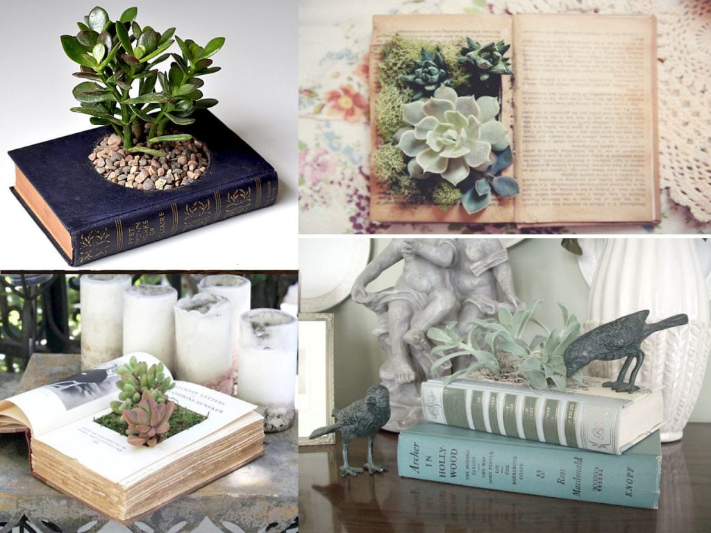 jardines en libros
