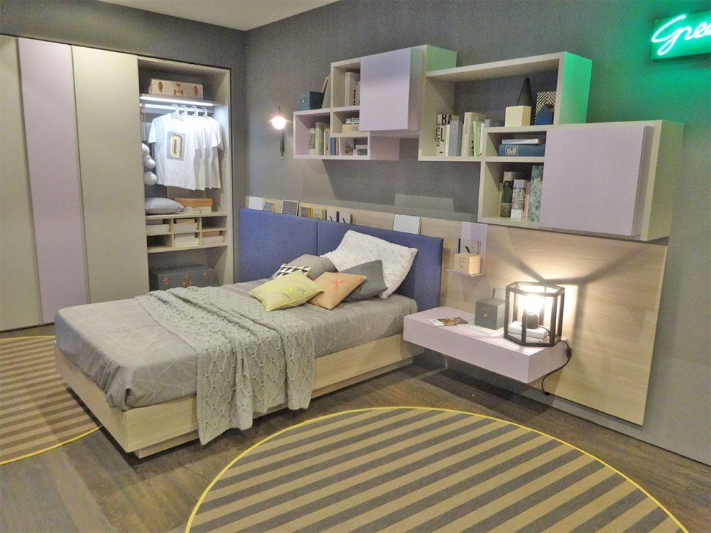 C mo decorar una habitaci n juvenil a la ltima for Habitaciones juveniles con cama grande